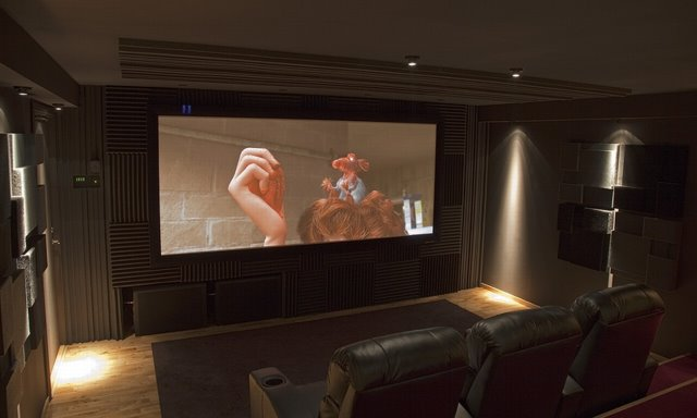 Procella equipped Home Cinema Room
