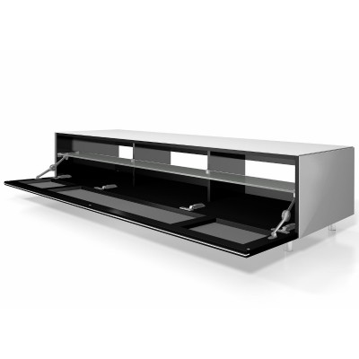 Just-racks white TV stand / cabinet