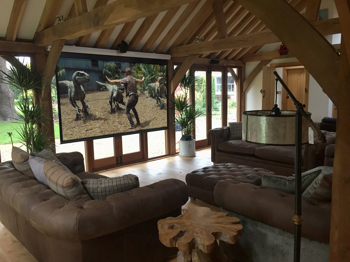 Retro Fit Cinema Room Rochford Rayleigh Hi Fi Sound Vision Design Home Theatre Automation Pre Wiring Retrof This Is An Amazing Retrofit Installation That Our Client Was Looking To Install In His Outbuilding Barn As The Already Decorated And